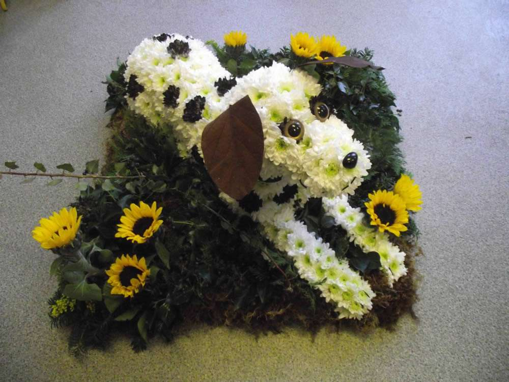 Bespoke Floral Tribute in 2D or 3D Shapes - Simply Flowers Wiltshire