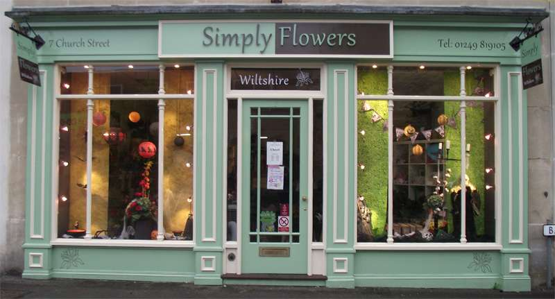 Simply-Flowers-Shop-Front - Simply Flowers Wiltshire